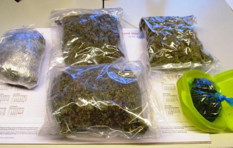 Marihuana im Wert von 10.000 Euro sichergestellt