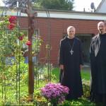 Abt. Thomas und Pater Philipp