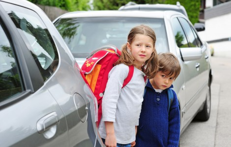 Gefahrenstellen für Schulanfänger
