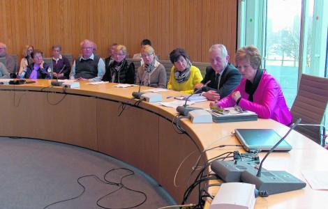 Besuch des Landtags in Düsseldorf