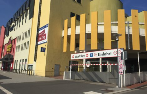 Parkhaus Conti-Park schließt zum Oktober