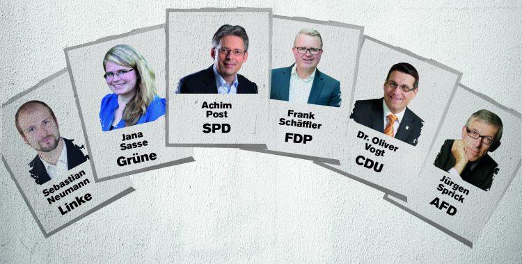 Wofür stehen die Kandidaten in unserem Wahlkreis?